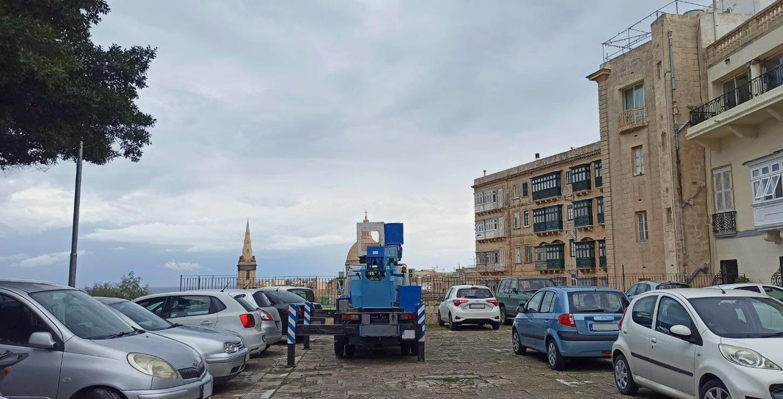 Installazione smart parking a Malta